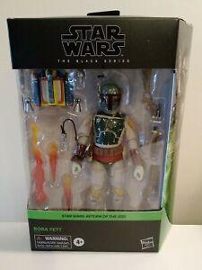 "Star Wars Boba Fett Black Series figure 6"" Return of the Jedi IN STOCK!"