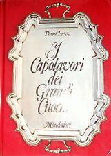 PAOLA BUZZI I CAPOLAVORI DEI GRANDI CUOCHI MONDADORI 1971