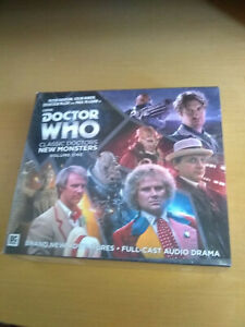 Doctor Who Classic Monsters New Doctors - Vol 1 - Big Finish CD set NEW SEALED