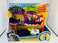Imaginext DC Super Friends The Joker Laff Factory Playset Toy Fisher-Price Sale