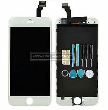 "White LCD Display Touch Screen Digitizer Lens Full Assembly for iPhone 6 4.7"" UK"