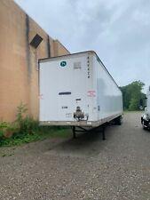 53' dry van trailer swing doors, air suspension.