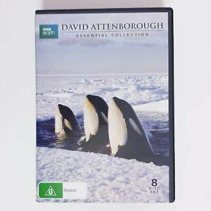 BBC Earth David Attenborough TV Series DVD Region 4 AUS - 8 x Disc Set