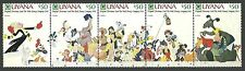 Animation, Cartoons Single Central & South American Stamps