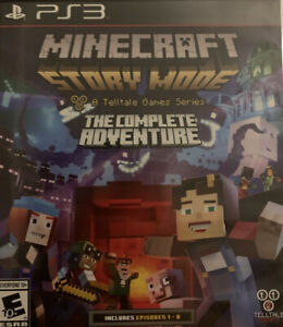 Minecraft: Story Mode , Minecraft And Batman 3 Sony PlayStation 3, 2015) PS3 [