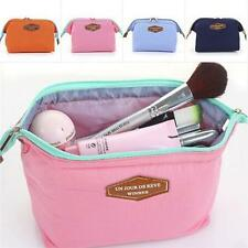 2017 New Toiletry Travel Make Up Cosmetic pouch bag Clutch Handbag Casual Purses
