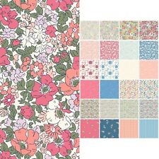 Liberty Print Quilting Cotton Fabric * THE COTTAGE GARDEN COLLECTION *114cm Wide