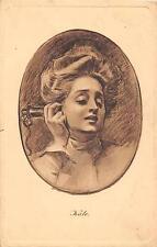 Mss M Clark, 6 Albert Place, Kensington, London  1916 - Jennie Lemington  qp1495