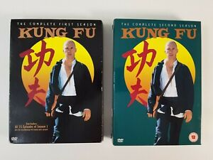 Kung Fu DVD Saisons 1 & 2 Complet Coffret Série TV David Carradine Zonage
