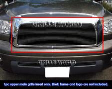 Fits 2007-2009 Toyota Tundra Black Billet Grille Grill Insert