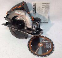 "Ridgid R8652 NEW GEN5X 18 Volt Hyper Lithium 7-1/4"" Circular Saw with Blade"