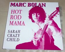 """Marc Bolan Hot Rod Mama Sarah Crazy Child 7"""" Psych Freakbeat NM w Picture Sleeve"""