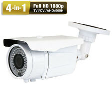 4-in-1 TVI 1080P 960H 2.6MP 2.8-12mm Zoom 72IR OSD CCTV Outdoor Security Camera