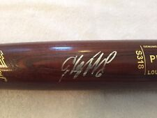 Starling Marte Signed Bat Pittsburgh Pirates AllStar Louisville Slugger