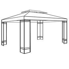 Stahl Gestänge Pavillon ELDA 4x3m Pavillion Garten Pavilion Zelt Zeltgestänge