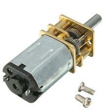 N20 DC12V 100 RPM Motor Engranaje Motor Eléctrico Gear Box alto esfuerzo de torsión