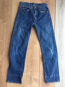 Levi's 501 (0115) Made In USA W31 L32 Ancienne Coupe 80's Fit 30/32 39 Fr