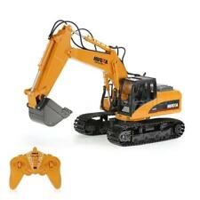HUINA RC Toy Alloy Excavator RTR Bulldozer Car Model 1550 2-4GHz 15CH Realistic