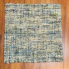 """New Square Accent Rug Wool Blend 18.5"""" x 18.5"""" Handloom Woven Carpet"""