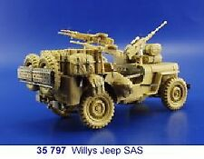 Eduard 1/35 SAS willys jeep Etch Pour Tamiya Kit # 35797