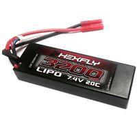 Redcat Racing LIPO Battery 3200mAh 20C 7.4V 138.5mmx46.5mmx23.5mm HX-320020C-BV2