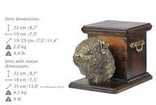 Black Russell Terrier, dog urn made of cold cast bronze, ArtDog, Ca - kind2