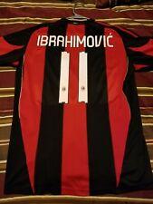 Ibrahimovic AC Milan 2010/2011 Home Jersey Size M
