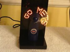 METS DISPLAY MESSAGE FAN ATTACHED TO BASE W/ ELECTRICAL PLUG NIB