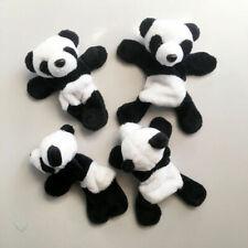 Kawaii Soft Plush Panda Fridge Magnet Refrigerator Sticker Home Decor Souvenir