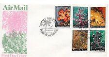 1983 Corals set 5 FDI Port Moresby 12 Jan 1983 Unaddressed Cover