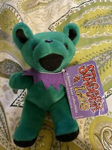 "Vintage Steven Smith Grateful Dead Beanie Bear ""Stagger Lee"""