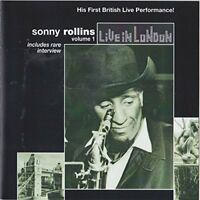 Sonny Rollins - SONNY ROLLINS/LIVE IN LONDON VOL 1 [CD]