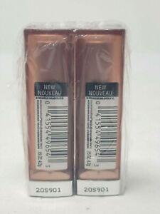 2x Maybelline Lipstick Color Sensational 550 Honey Pink Matte NIP Lot of 2
