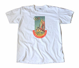 Vintage 1956 Winter Olympics T-Shirt - Cortina, Italy