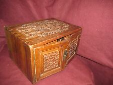 Old or Antique Chinese Export Camphor Wood Multi Drawer Cabinet