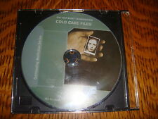 """Cold Case Files Emmy DVD 1 Episode """"THE BEDROOM BASHER""""  FORENSIC SCIENCE A&E CH"""