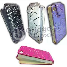 CASE FOR APPLE IPHONE 4 IPHONE 4S GLITTER FLIP POUCH COVER