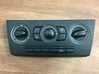 BMW 318d E90 2007 heater control panel 9162986