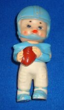 Vintage Iwai Industrial Ltd. 1971 Rubber Squeaker Toy Football Player #10