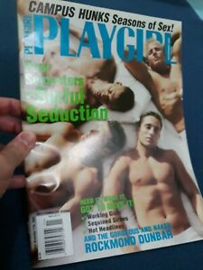 Playgirl Magazine November 2003, campus hunks seasons of sex