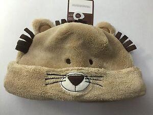 Carter's Super Comfy Caps - Light Brown Lion Size 3-9 Months