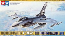 Tamiya 61101 Lockeed F-16C (Block 25/32) Fighting Falcon ANG 1/48 scale kit