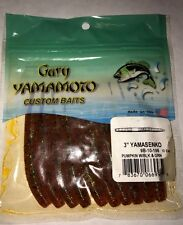 "Gary Yamamoto Senko 3"" Pump W/ Black & Grn 9b-10-196, 10pk"