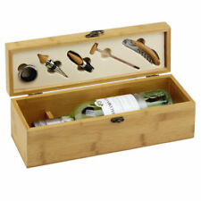 Personalised Wooden Wine Box With Tools - Perfect Wedding Anniversary Gift