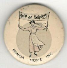 Original Wwi era Women's & Nurse's Cause Item Help The Helpless Minda Home Inc