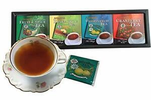MLESNA  100% PURE CEYLON BLACK TEA FLAVOURED 10 INDIVIDUAL WRAPPED TEA BAGS