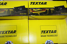 Textar Brake Pads with Warning Contact Audi A4 (B6/B7) Lim. and Avant Front