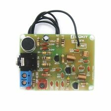 DIY Kit 88-108MHz FM Transmitter Frequency Wireless Microphone Suit