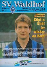 Programm 1992/93 SV Waldhof Mannheim - VfL Osnabrück