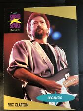 Eric Clapton - Trading Card from 1991 - ProSet SuperStars MusiCards # 3 New
